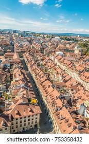 View of Bern Switzerland