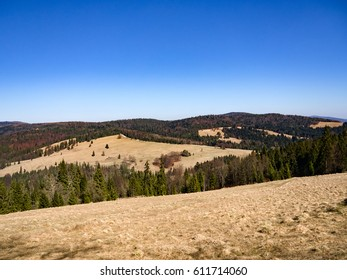 View of Beskid Sadecki from Pieniny