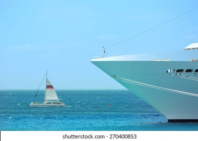view of big and small boat