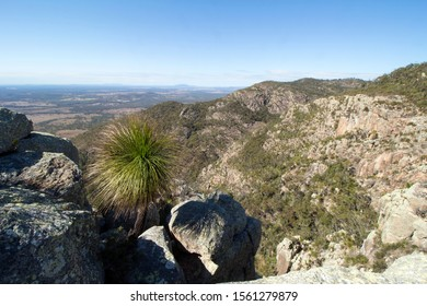 View from  Biggenden Bluff  at Mount Walsh National Park in the North Burnett district of Queensland, Australia.