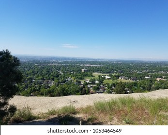 View of Billings, Montana