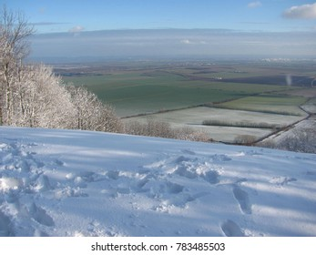 A view from the Blind hill in Little Carpatians - Shutterstock ID 783485503