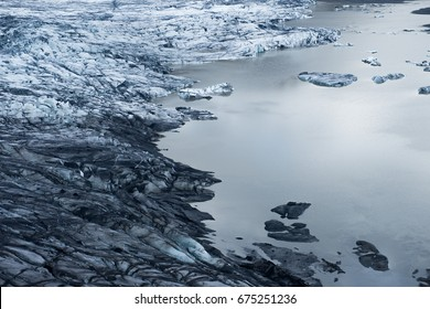 View of Blocks of Ice on the Northern Sea. Cold Winter. Winter Sea and the Ocean, Arctic Nature, Ice Floe in the Ocean, Melting Ice, Spring in the North Sea, the Arctic in the Spring, Wildlife