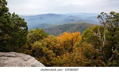 View from Blood Mountain - Georgia