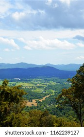 View of the Blue Ridge Mountain area of Virginia.