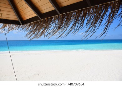 Maldivessea view, blue sea and whitesand