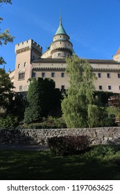View to Bojnice castle, Slovakia