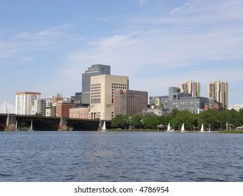 View of Boston's Skyline