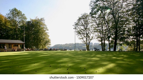 A view of the Bowling Green at the Bowling Green Cafe, Rivington, Chorley, Lancashire, England, Europe on Thursday, 19th, September, 2019