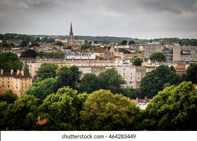 View from Brandon Hill, Bristol