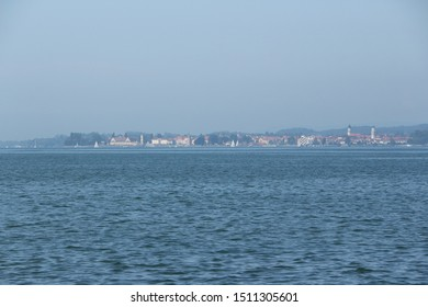 View from Bregenz in Austria over Lake Constance
