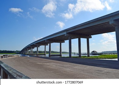 A view of a bridge in Hilton Head, South Carolina