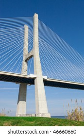 View of the  bridge - Lisbon