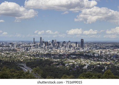 view of Brisbane city