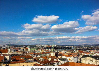 View of Brno, Czech Republic