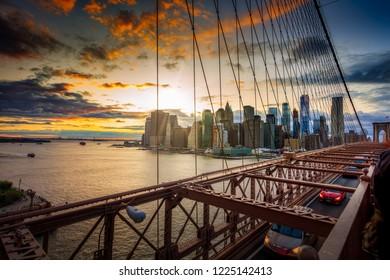 View from Brooklyn Bridge