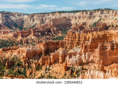 View of Bryce Amphitheater from Sunrise Point of Bryce Canyon National Park, Utah