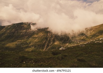 View from Bucegi mountains, Romania, Bucegi National Park