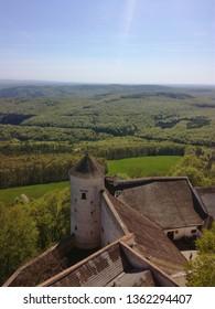 View from Buchlov castle in the Czech Republic.