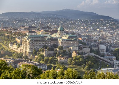 View of Buda Castle in Budapest, Hungary