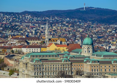 View of Budapest city, Hungary, Europe