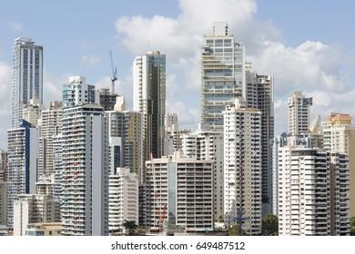 view of buildings in Panama City, Panama