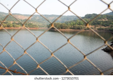 A view of bushi dam in lonavala, india