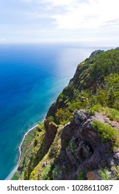 View from Cabo Girao cliff - Madeira island, Portugal