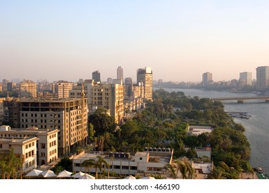 View from Cairo, by the Nile.