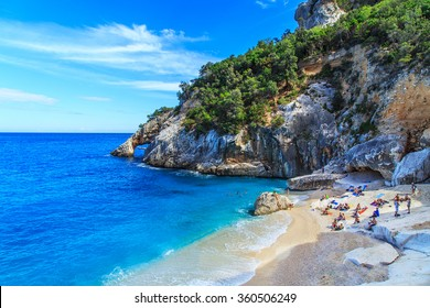 A view of Cala Goloritze beach, Sardegna
