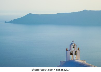 View of the caldera from Imerovigli, Santorini