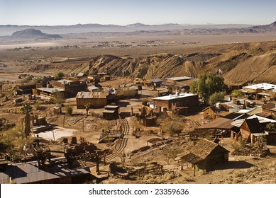 View of Calico, California...a ghost town and San Bernardino County Park