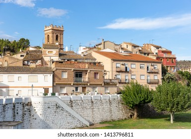 a view of Calles village, province of Valencia, Valencian Community, Spain