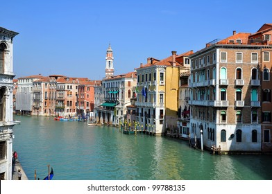 A view of the Canal Grande - Venezia - Italy