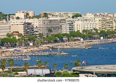View of Cannes, South of France