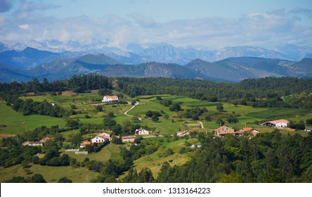 A view of Ruiseñada, Cantabria