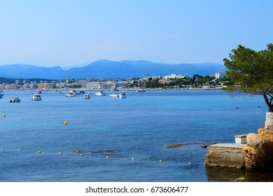 View from Cap Antibes, France