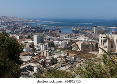 View of the capital of Algeria, Algiers the day