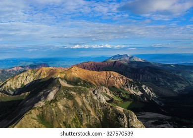 View from Capitol Peak, Near Aspen, Colorado Rocky Mountains