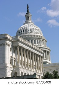 A View of the Capitol in Washington D.C.