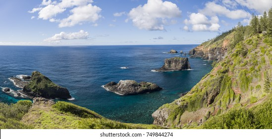 View from Captain Cook lookout, Norfolk Island