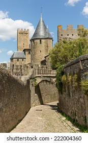 View of Carcassonne fortress