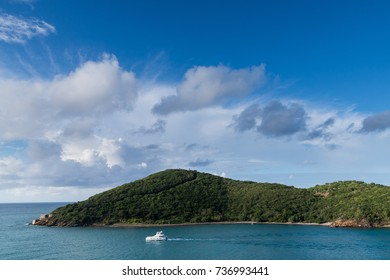 View of Caribbean Island