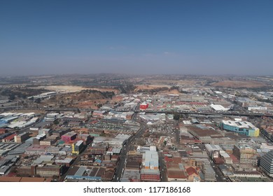 View from the Carlton centre in Johannesburg, South Africa.