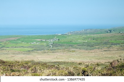 The View from Carn Galva, the St Ives to St Just Road, Cornwall UK