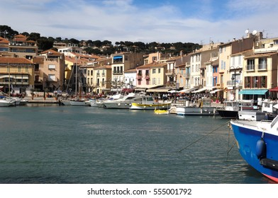 View of Cassis, French Riviera, France