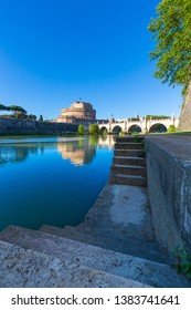 A view of Castel Sant'Angelo, Rome, Italy
