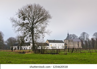 View of the Castle Genhoes in Limburg,The Netherlands
