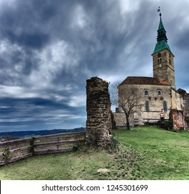 View of Castle Guessing in Burgenland, Austria