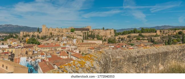 View of the castle of Tortosa, Catalonia, Tarragona, Spain